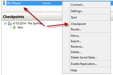 Part III – Updating a Pooled Desktop Image - Centrinet